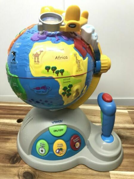 VTech Fly and Learn Talking Globe Interactive Educational ...