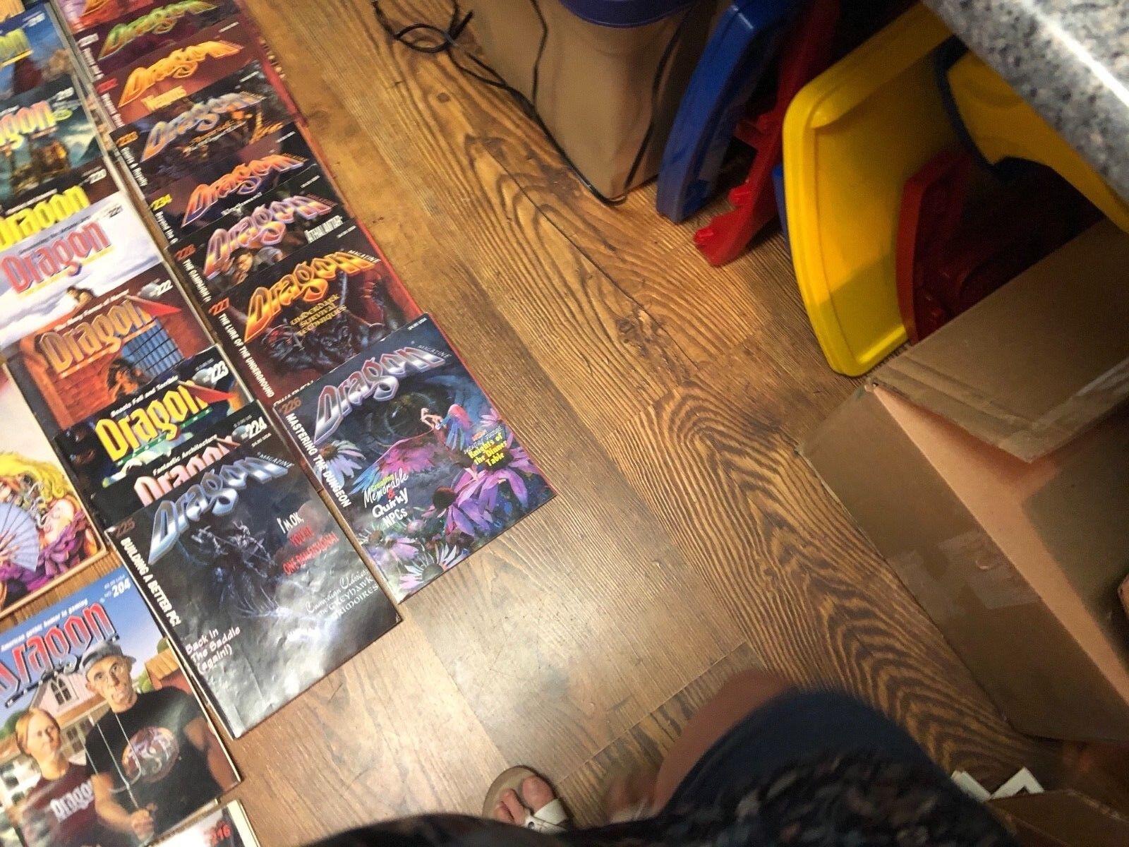 Dungeons & & & Dragon Magazine Lot of 78 556abd