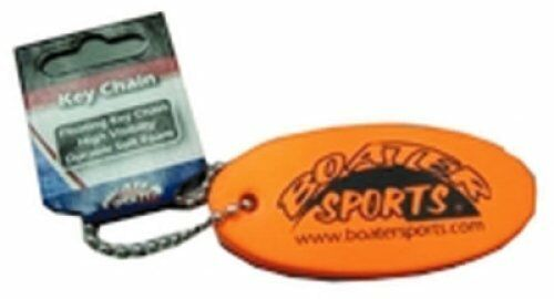 Boater Sports Boat Marine Floating Key Chain High Visibility Durable Soft Foam