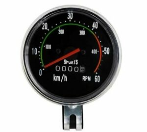 Retro-Fahrradtacho-Tacho-Bike-Fahrrad-Vintage-analog-Kilometerzaehler-Tachometer