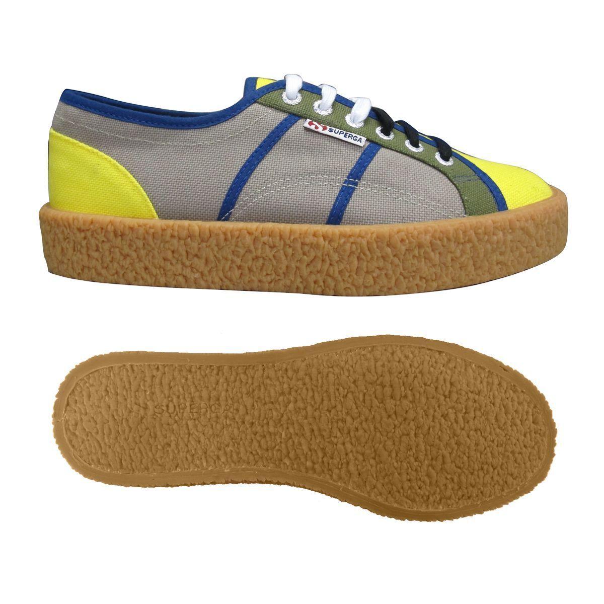 Superga Zapatos hombre Sneakers 2750-COTU MULTICOLOR MEGA hombre Zapatos mujer Citta PUR Basso c4e87b