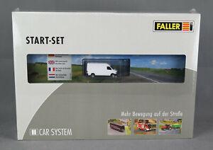 Faller-161504-H0-Kit-Car-System-Start-Set-MB-Sprinter-New