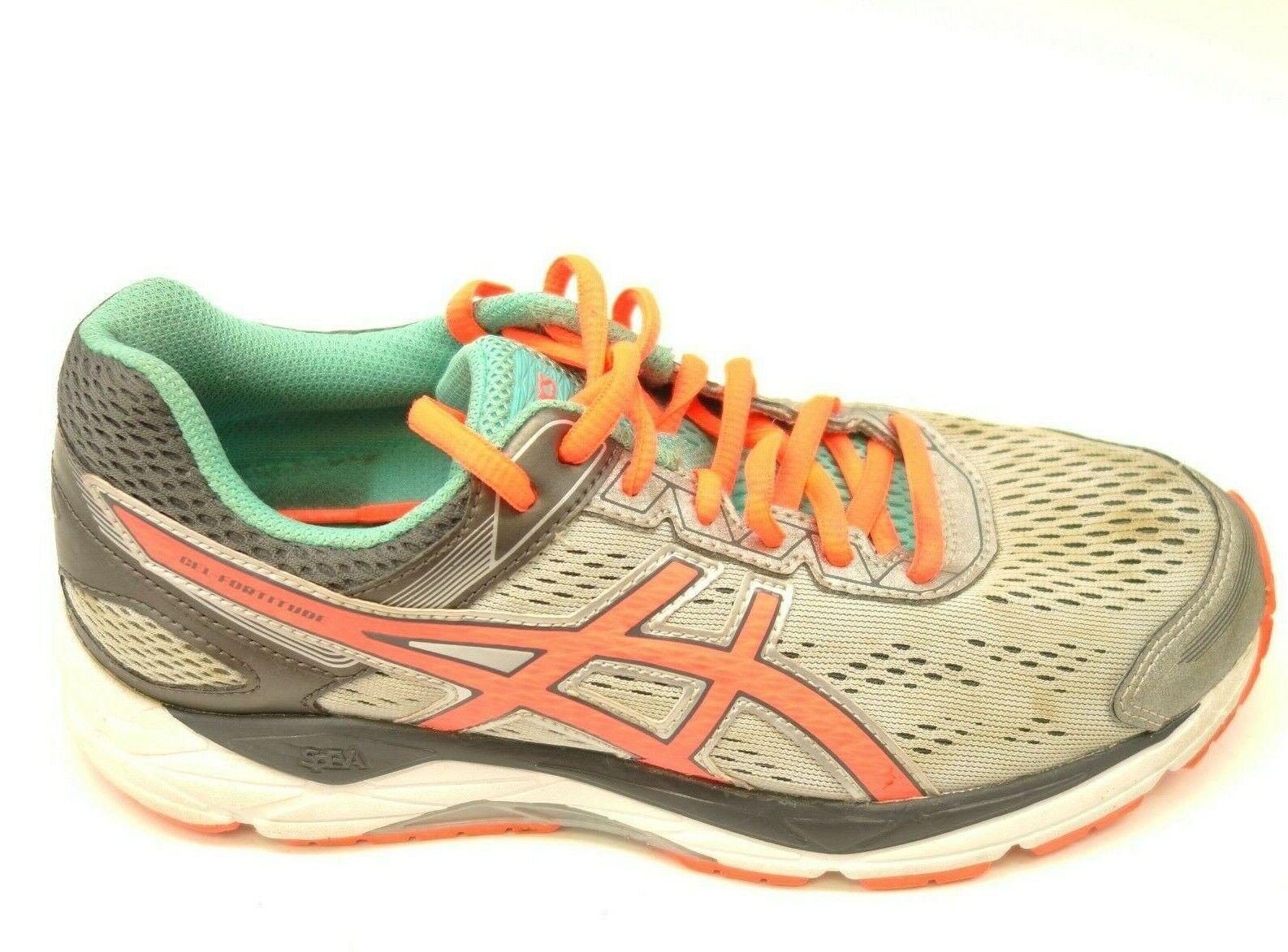 Asics GEL Fortitude 7 Sz 7.5 White Athletic Running Cross Training Womens shoes
