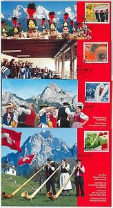 63835 - SWITZERLAND - POSTAL HISTORY: Set of 4 MAXIMUM CARD 2011 - MUSIC