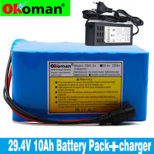 24V10AH-Li-ion-Battery-Volt-Rechargeable-Bicycle-500W-E-Bike-Electric-Charger