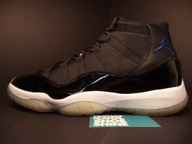 2009 Nike Air Jordan XI Retro 11 Retro XI SPACE JAM Noir ROYAL Bleu blanc 378037-041 7.5 109c7a