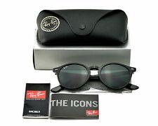 Ray-Ban RB2180F 601/71 Black Green Classic Lenses Unisex Sunglasses 51mm