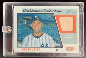 2015-Topps-Heritage-Clubhouse-Collection-DEREK-JETER-Bat-Relic-Card-CCR-DJ