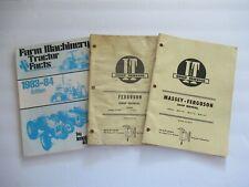 Massey Ferguson Shop Service Manual Iampt Mf31 Fe2 Amp Farm Machinery Tractor Facts