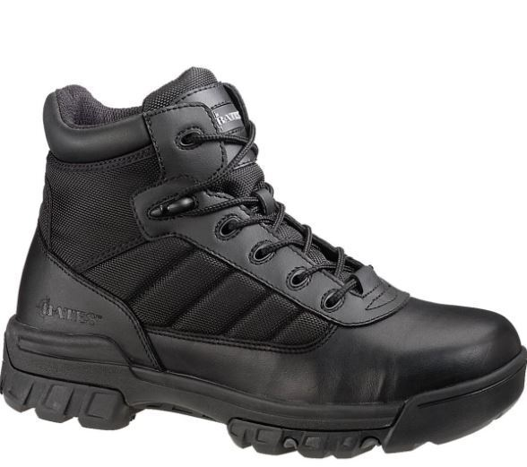 Bates Tactical Sport Composite Toe EH E02264 Work Boot Black Leather Men's 7