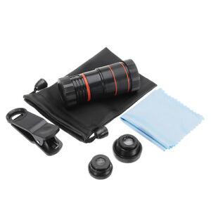 Apexel-CL-19B85-4-in-1-8X-Telescope-Zoom-Fisheye-Wide-Angle-Macro-Lens-for-Mobil