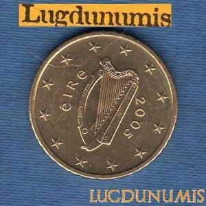 Irlande 2005 50 Centimes d'Euro SUP SPL Pièce neuve de rouleau - Eire