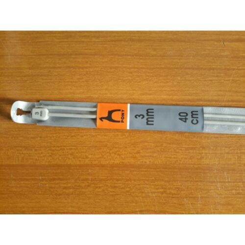 6126 Ferri aghi da maglia per aguglieria aghi per lana PONY misura 3 mm