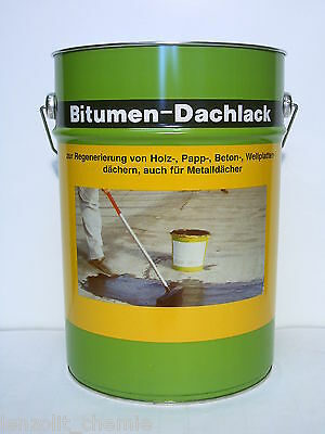 FäHig Bitumen Dachlack Dachfarbe Dachschutz Bitumenanstrich Wetterschutz Kaltanstrich Duftendes Aroma Sonstige