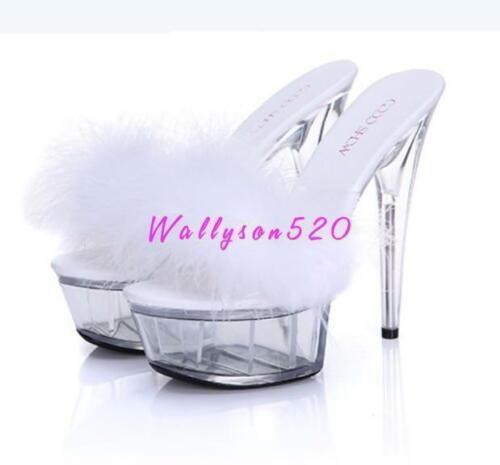 Details about  /New Womens High Heels Open Toe Sandals Stilettos heel Party Wedding  Pumps Shoes