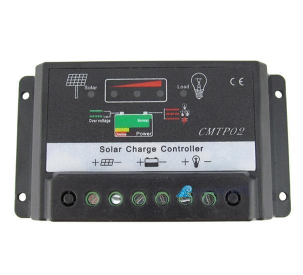 5A MPPT Solar Panel Battery Regulator Charge Controller 12V/24V Auto Switch