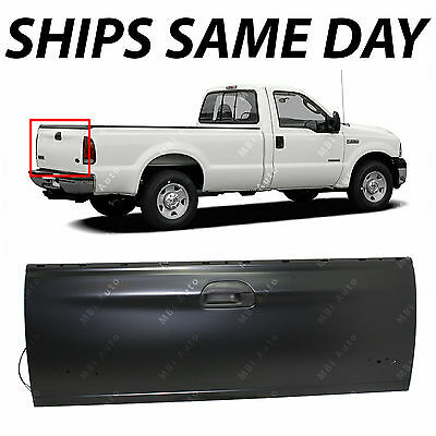 2003, 2005, 2006 F-350 SD FO1904114 Replacement Rear Beige Tailgate Molding Cap for 03-06 Ford F-250 SD