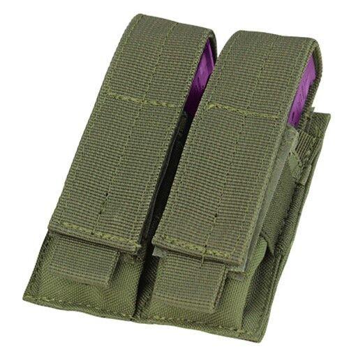 Condor diamètre extérieur vert MA23 MOLLE PALS Double Stack Pistol Magazine Outil Pochette Holster