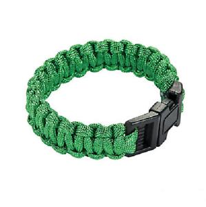 Emerald Green Paracord 1000 Foot 550 lb Bracelet Camping Survival Kit Rope