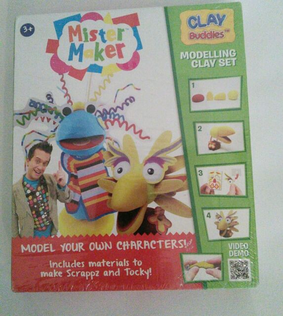 Mini Clay Choose Number of Packs Peppa Pig Clay Buddies and activity book