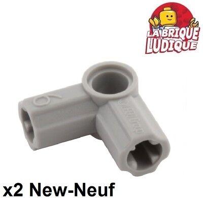 Lego technic 2x Axe Axle Connecteur Connector 3L gear gris//l b gray 26287 NEUF