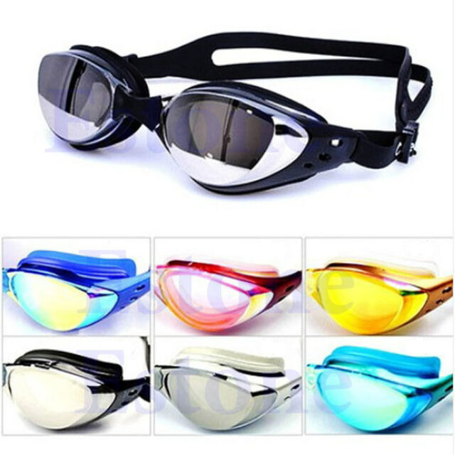 New Adult Eye Protect Uv Anti-fog Swimming Goggle Glasses Adjustable Practical