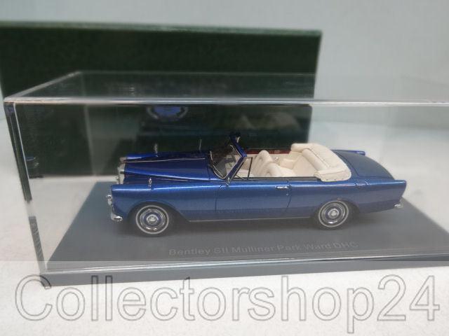 ahorre 60% de descuento NEO   Bentley Bentley Bentley SII Continental Mulliner Park Ward DHC, met.-azul, RHD , 1959 1 43  Descuento del 70% barato