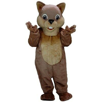 Chipper Chipmunk Professional Quality Mascot Costume