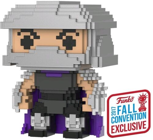 Shredder 8-Bit Pop Vinyl Figure 2017 Fall Con Teenage Mutant Ninja Turtles