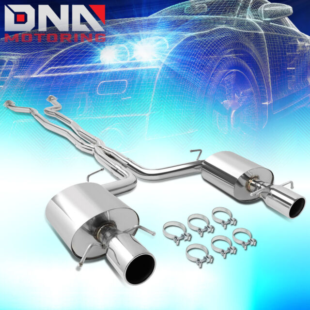 Hooker Axle Back Exhaust System High Flow For 2011-2015
