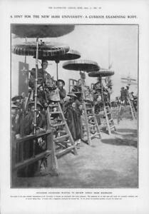 1908-Antique-Print-VIETNAM-Annam-Annamese-Examiners-Irish-University-189