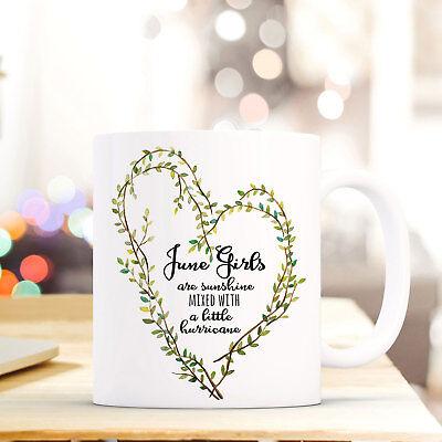 Tasse Becher Kaffeebecher Mit Herz & Spruch Motto June Girls Kaffeetasse Ts603 Ein Kunststoffkoffer Ist FüR Die Sichere Lagerung Kompartimentiert Büro & Schreibwaren