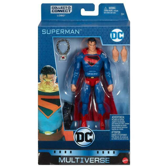 "DC Multiverse Kingdom Come Superman 6/"" Figure No Lobo BAF"