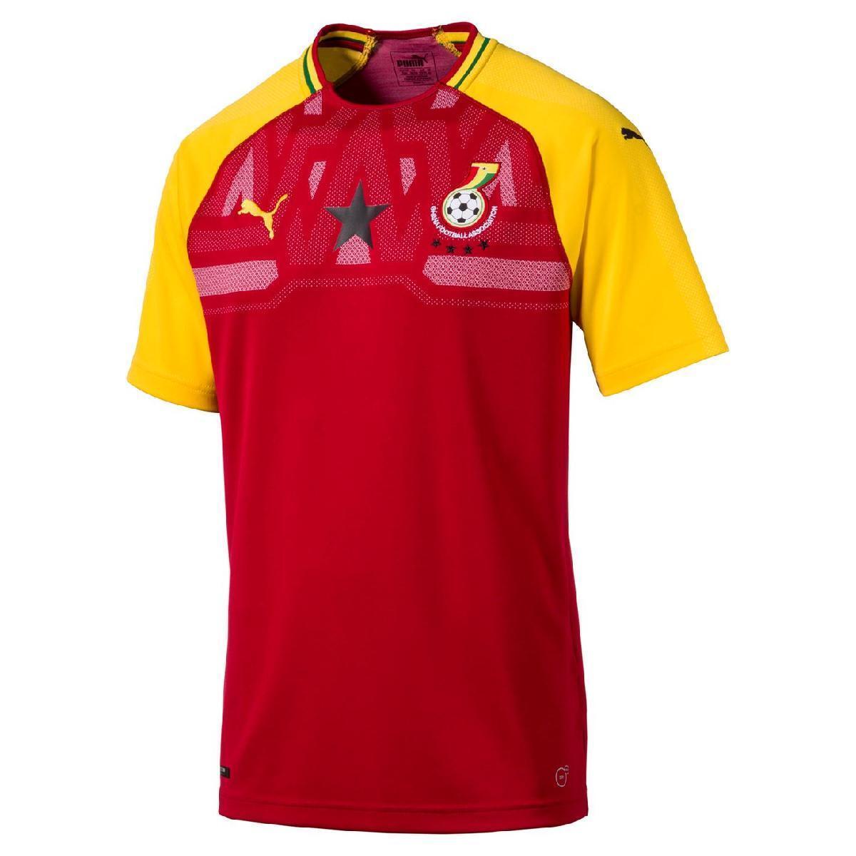 Ghana Fußball Trikot Herren Home Shirt 2018 58 T shirt Puma