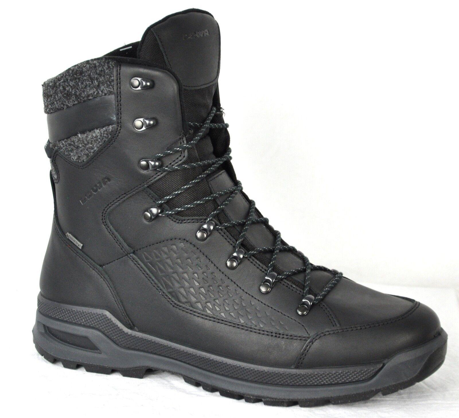 Lowa Mens Renegade Evo Ice Gore-Tex Winter Boots 410950 0999 Black Size 10.5