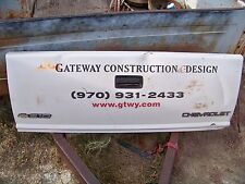 """Chevrolet Chevy S10 Tailgate 55"""" X 21"""" Bench Decor 1990s"""