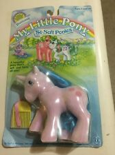 Vintage G1 MLP My Little Pony MOC Sealed  So Soft Buttons