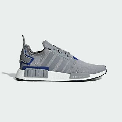 Adidas Nmd R1 Boost GreyBlue Mens Sneakers BD7742 MULTIPLE SIZE Ultra Boost   eBay