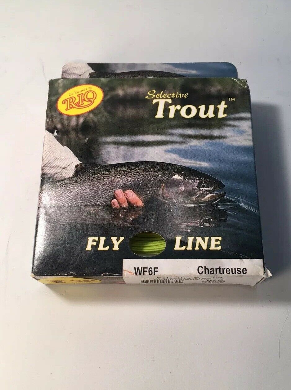Rio selective trout fly line Wf6s