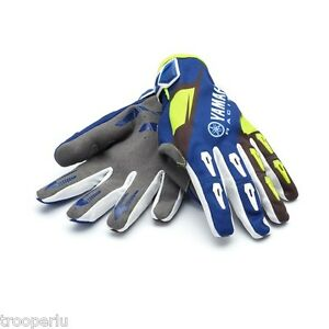 YAMAHA-RACING-MX-GLOVES-YOUTH-KID-039-S-MOTOCROSS-DIRT-OFFROAD-A17-GG404-G1