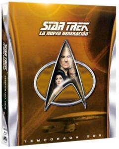 Star Trek La Nueva Generación TEMPORADA 2 (SEGUNDA) EN Blu-Ray CASTELLANO NUEVO