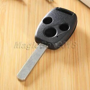 Remote-Key-Shell-For-Honda-Accord-Civic-CR-V-Pilot-Car-Key-Case-Fob-3-Buttons