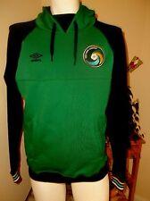 Umbro New York Cosmos Soccer Sweatshirt Hoodie Mens Size Medium M Navy Green