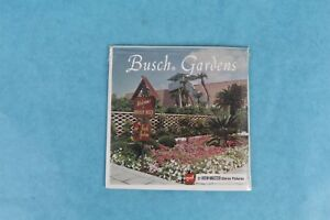 VINTAGE VIEW-MASTER 3D REEL PACKET A988 BUSCH GARDENS FLORIDA COMPLETE