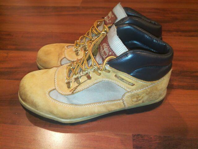 Timberland Grade School Field Lace-Up Boot Wheat 15945
