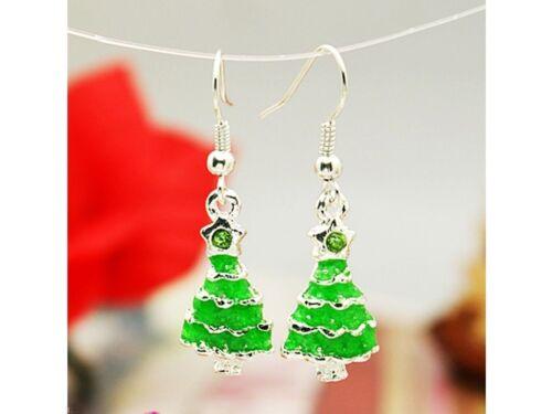 tannenbaum navidad árbol verde Pendientes