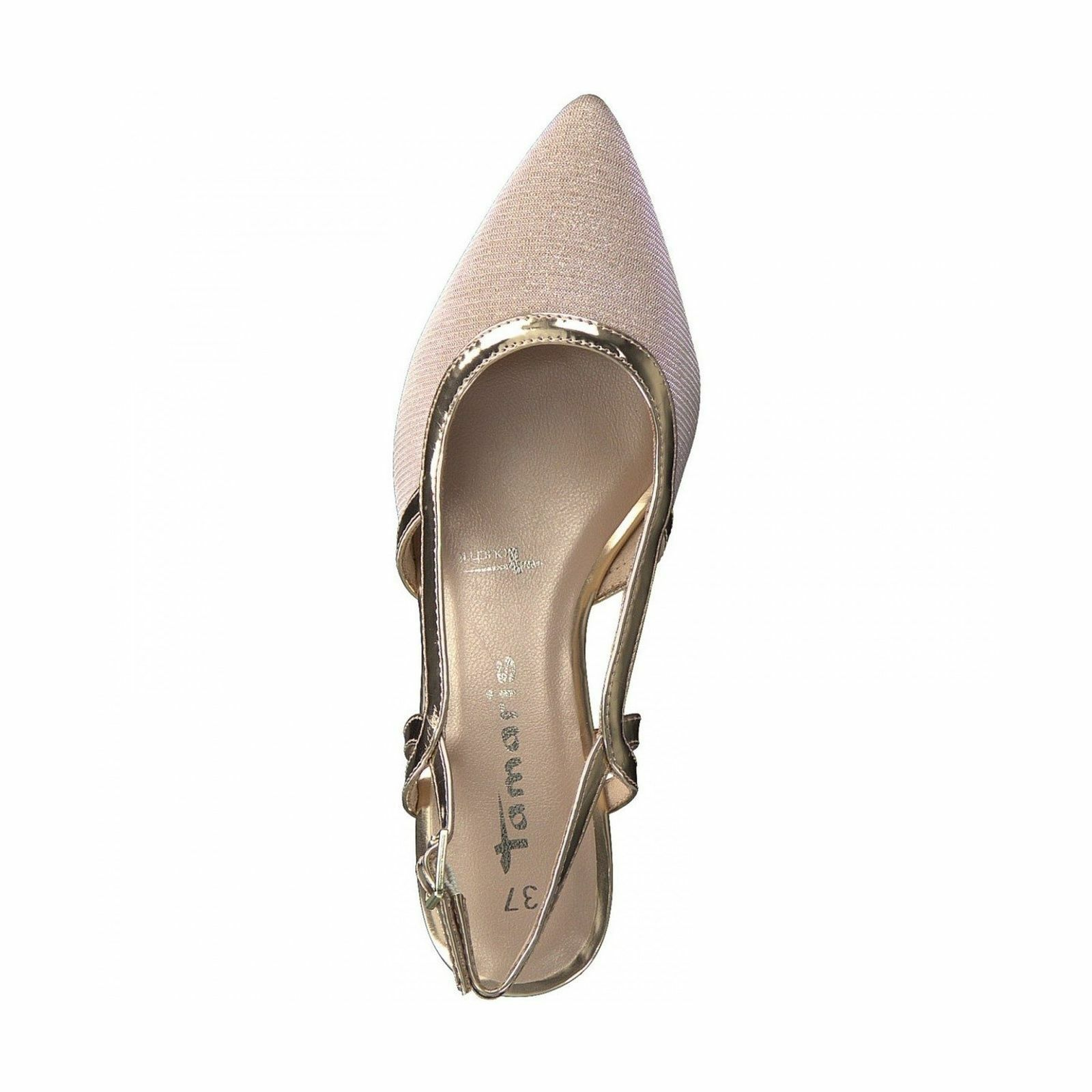 Tamaris Chaussures Femme 29610 rose Glitter Patent Party