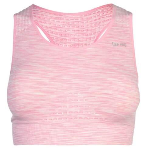USA Pro pour femme Sans Couture Brassière Soutien-gorge de Sport Col v Workout