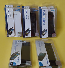 Lot of 8 ~ Samsung Galaxy Flip Covers for S4 & S5   ~ Free Shipping