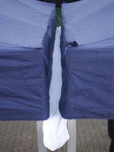 Gazebo Marquee Rain Gutter Kit 3m 4 5m 6m Hook Velcro